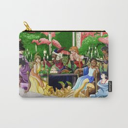 Wine In the Garden Carry-All Pouch