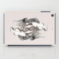 koi iPad Cases featuring Koi by Heaven7