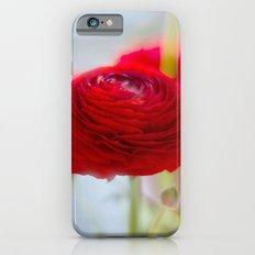 RED RANUNCULUS Slim Case iPhone 6s