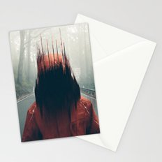 Face into the Abyss Stationery Cards