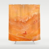 journey Shower Curtains featuring Journey by SOAN9