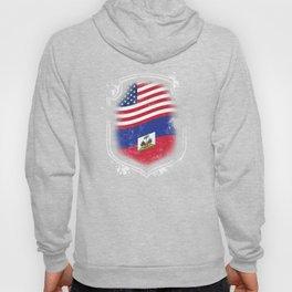 Haitian American Flag Hoody