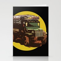 truck Stationery Cards featuring Truck by Mirko Dessureault