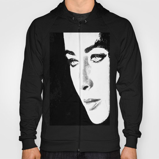 Elizabeth Taylor watercolour wash Hoody