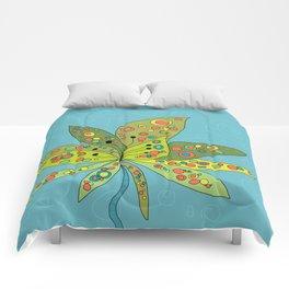 Groovy Lotus Comforters