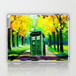 PAINTING TARDIS Laptop & iPad Skin