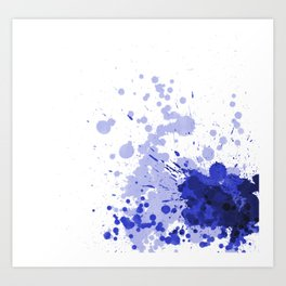Passion Blue Art Print