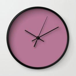 Boca Solid Shades - Lilac Wall Clock