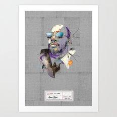 Isaac Hayes Art Print