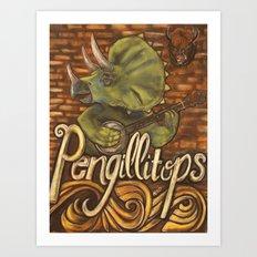 Pengillitops Art Print