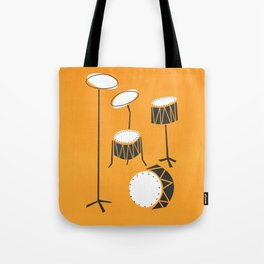 Drum Kit Drummer Tote Bag