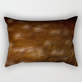 Deer Fur Rectangular Pillow