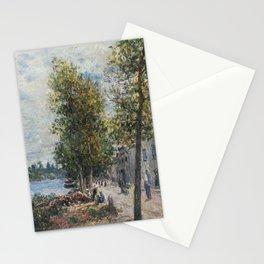 Alfred Sisley 1839 - 1899 SAINT-MAMMÈS Stationery Cards