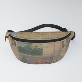 Amīr Khusrau Dehlavī - A Virtuous Woman Placates the King by Plucking Out Her Eyes (1598) Fanny Pack