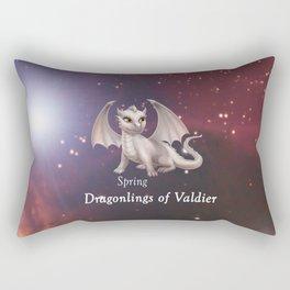 Dragonling in Space - Spring Rectangular Pillow