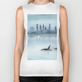 Nature is my home Biker Tank