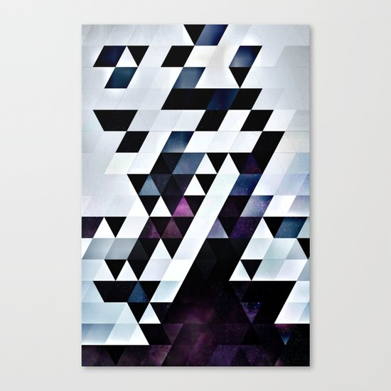 MODYRN LYKQUYR Canvas Print