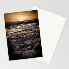 Rocky Sunset. Stationery Cards