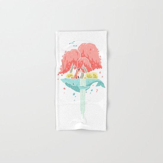 Whale Island Hand & Bath Towel