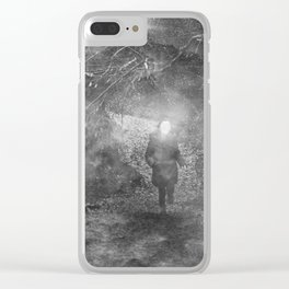 The Wood Clear iPhone Case