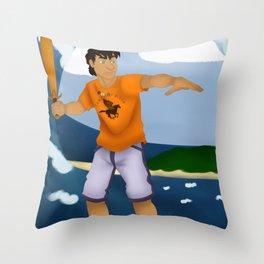 Percy Jackson Throw Pillow