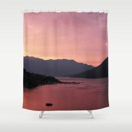 Bay of Kotor View - JUSTART (c) Shower Curtain