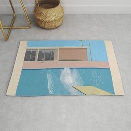 A Bigger Splash - David Hockney, 1967 Rug