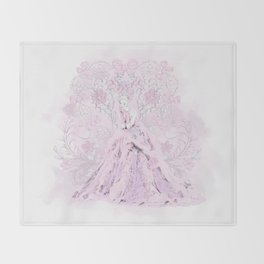 Rococo Marie Throw Blanket