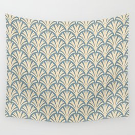 Art Deco Gold Fans Wall Tapestry