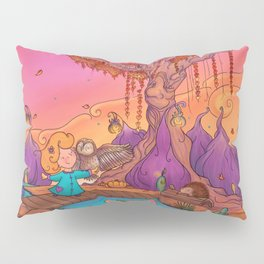 My wise friend and I Pillow Sham
