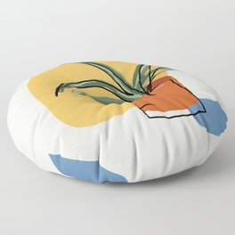 Tropical Planter Floor Pillow