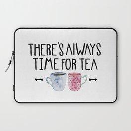 Always Time For Tea! Laptop Sleeve