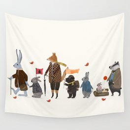 lets all go rambling Wall Tapestry