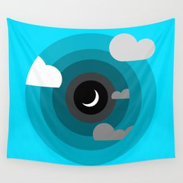 Into the clouds Wall Tapestry
