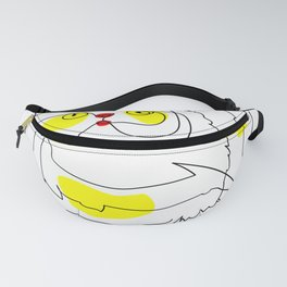 One line - Persian Self Fanny Pack