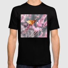 Butterfly 30 Mens Fitted Tee Black MEDIUM