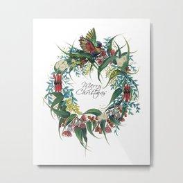 An Aussie Christmas Metal Print