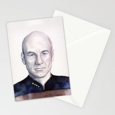 Captain Picard Stationery Cards