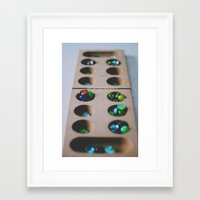 games Framed Art Prints featuring Games by Anna Bailey