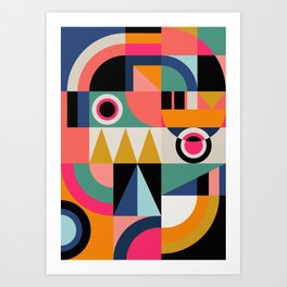 Graphic #13 Art Print