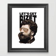 Let's get Bizet Framed Art Print