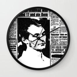 Jeffrey Dahmer Wall Clock