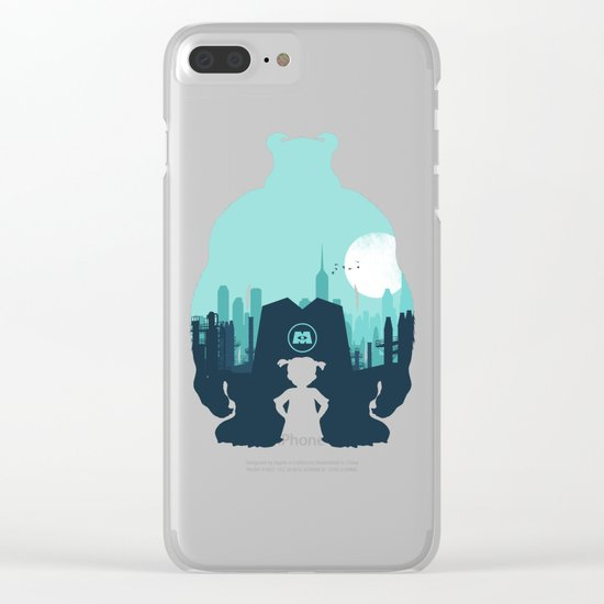 Welcome To Monsters, Inc. Clear iPhone Case