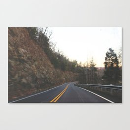 mountain roads Canvas Print
