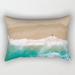 Peace to the Sea Rectangular Pillow