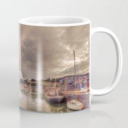 Porthmadog Harbour at Dusk Coffee Mug