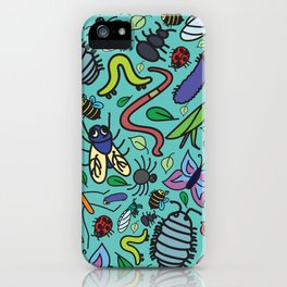 Bug Pattern iPhone Case