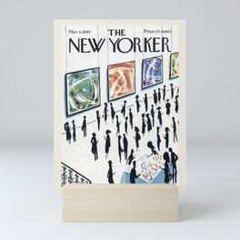 "Cover of "" The new Yorker"" magazine. Mar. 6 1965. Mini Art Print"