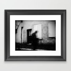 I follow you in the street, sometimes. 3 Framed Art Print
