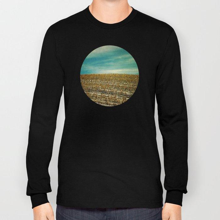Corn Fields Long Sleeve T-shirt
